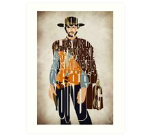 Blondie- The Good, The Bad and The Ugly Art Print