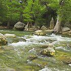 Guadalupe River, Texas by Tamas Bakos