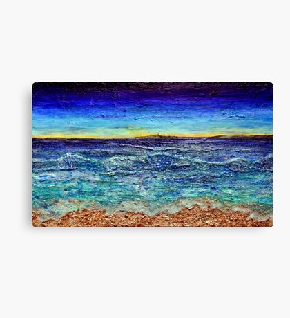 Island Dawn Canvas Print