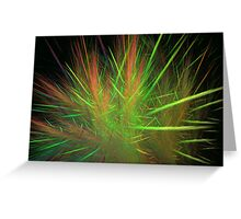 Grass Spikes Greeting Card