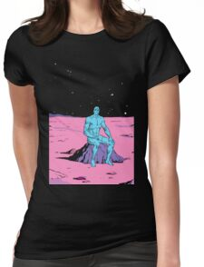 Dr. Manhattan Womens Fitted T-Shirt