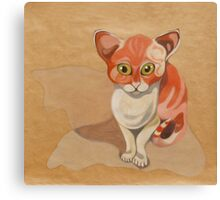 Red cat Canvas Print