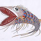 Shark fish  (original sold) by federico cortese