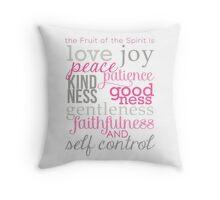 The Fruit of the Spirit, Galatians 5:22 Throw Pillow