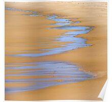 Coastal Abstract Poster
