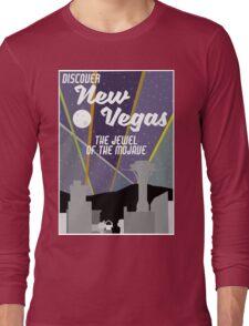 Vintage New Vegas Skyline Long Sleeve T-Shirt
