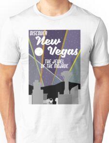 Vintage New Vegas Skyline Unisex T-Shirt