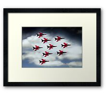 9 Ship Gnats Framed Print
