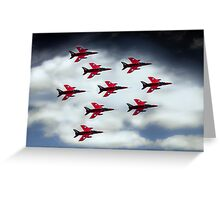 9 Ship Gnats Greeting Card