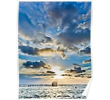 Merewether Baths Sunrise  Poster