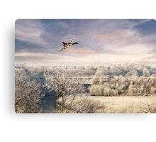 Vulcan Winter  Canvas Print