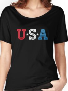 USA PATRIOT Women's Relaxed Fit T-Shirt