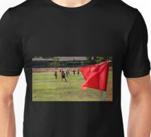 Soccer Corner With Players Unisex T-Shirt