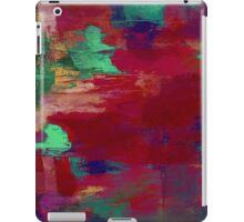 Crimson Overflow iPad Case/Skin
