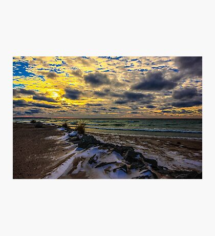 Sand, Snow, & Sunsets Photographic Print