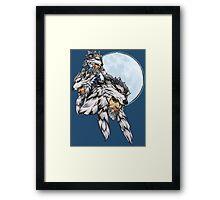 Three Wolf Moon - Hanzo Framed Print