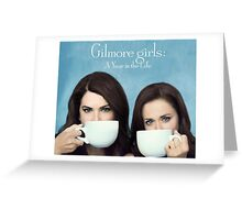 Gilmore girls - a year in the life - netflix series Greeting Card
