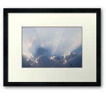 Little Ray of Light Framed Print