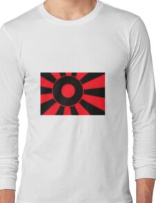 Red and black  Long Sleeve T-Shirt