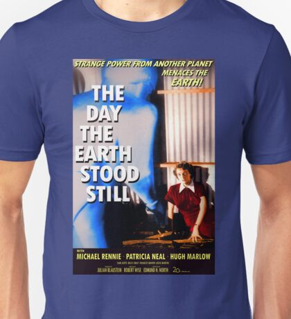 """Patricia Neal - """"The Day The Earth Stood Still"""" - Poster Unisex T-Shirt"""