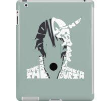 Ulquiorra typography iPad Case/Skin