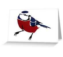 Graffiti Robin Greeting Card