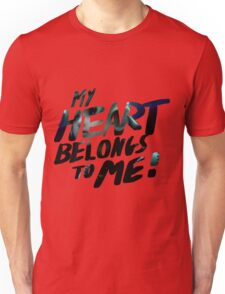 My Hearts Belongs to Me! - Roxas Unisex T-Shirt