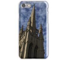 Church with blue sky iPhone Case/Skin