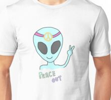 alien hippie Unisex T-Shirt