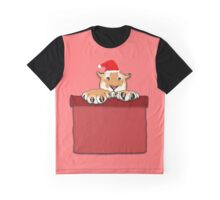 Christmas Tiger Graphic T-Shirt