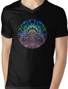 Mandala Energy Mens V-Neck T-Shirt
