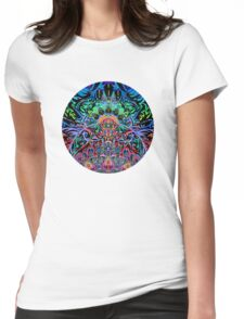 Mandala Energy Womens Fitted T-Shirt