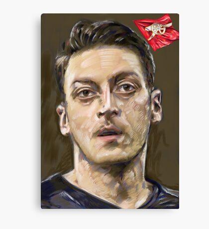 Mesut Ozil - Arsenal Canvas Print