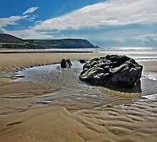 Sand, Rock, Water by cclaude