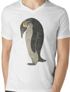 Penguin chilling Mens V-Neck T-Shirt