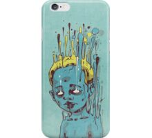 The Blue Boy with the Golden Hair iPhone Case/Skin