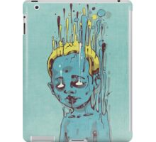 The Blue Boy with the Golden Hair iPad Case/Skin