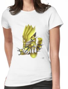 Shiny Groudon Womens Fitted T-Shirt