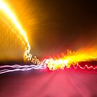 Light Show To Guayaquil by Al Bourassa