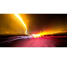 Light Show To Guayaquil Photographic Print