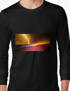 Light Show To Guayaquil Long Sleeve T-Shirt