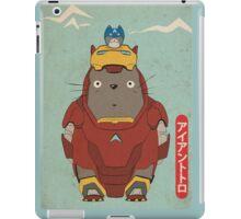 My Neighbour Iron Totoro iPad Case/Skin