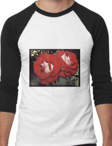 Rain and Roses Men's Baseball ¾ T-Shirt