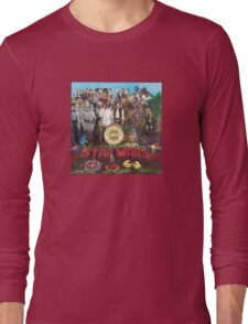 Peppers (vinyl square version) Long Sleeve T-Shirt