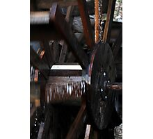 mill wheel Photographic Print