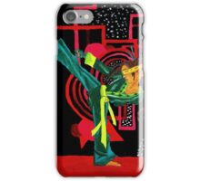 Sustah Girl Karate iPhone Case/Skin