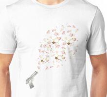 floral gun  Unisex T-Shirt