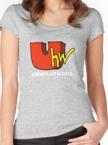 Unhollywood 1 Women's Fitted Scoop T-Shirt