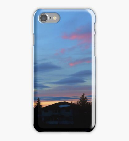 Dolphins In The Sky iPhone Case/Skin