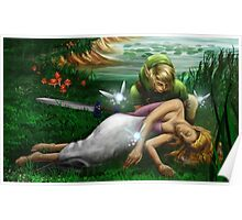 Link and Zelda Poster